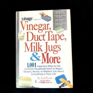 Vinegar, Duct Tape, Milk Jugs & More: Hardcover